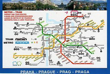 Metro Prag Karte.Ulli Bässe Von Letomerice Nach Prag